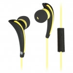 Наушники Ritmix RH-187M, Black/Yellow