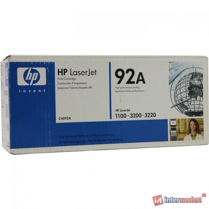 Оригинальный картридж HP C4092A