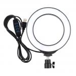 "Кольцевая USB LED лампа Puluz PU378 6.2"""