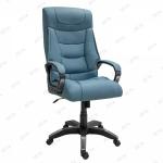 Кресло для офиса Бахыт Zeta эко-кожа серый