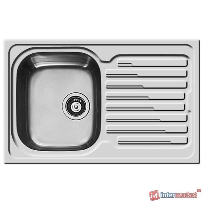 Кухонная мойка PYRAMIS Amaltia 79x50 1B 1D REV 18/10 SMOOTH