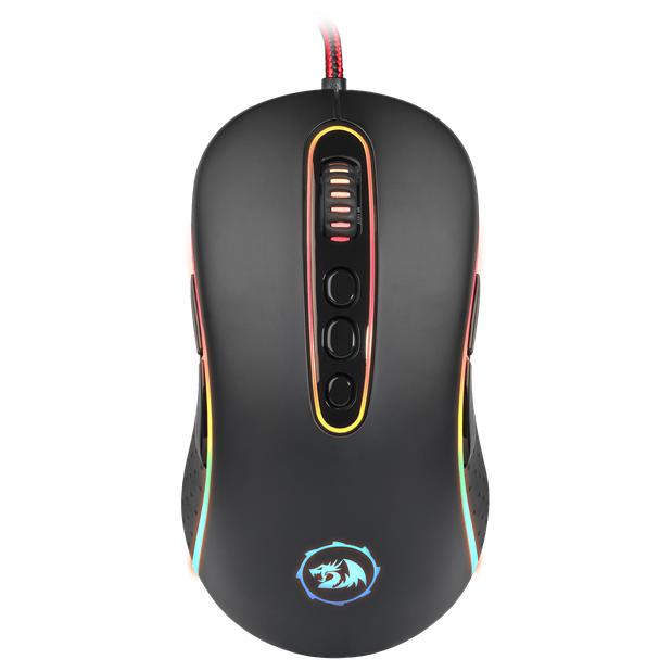 Мышь проводная игровая оптическая Redragon Phoenix 2 (черный) USB, 11 кнопок, 500-10000 dpi, НОВИНКА