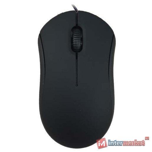 Мышь проводная Ritmix ROM-111 Black