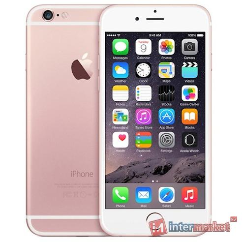 Смартфон Apple iPhone 6S 128Gb, Rose