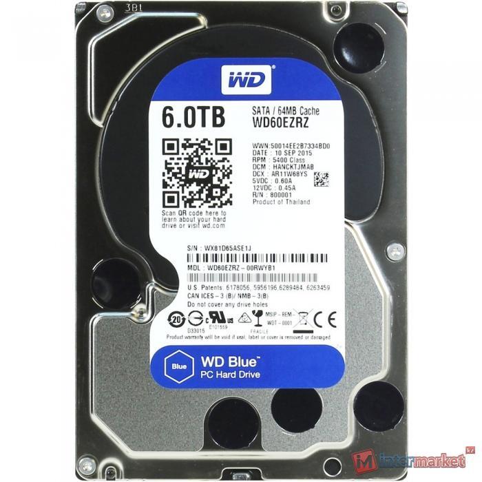 Жесткий диск Western Digital WD60EZRZ